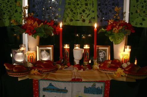 The center altar.