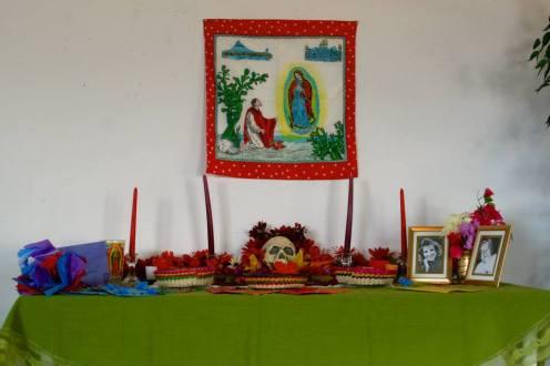 A community altar.