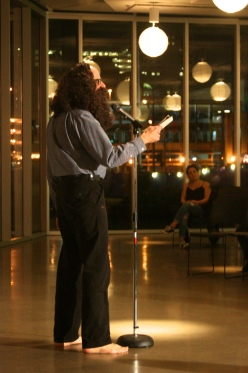 Darin Podulke-Smith as Allen Ginsberg.