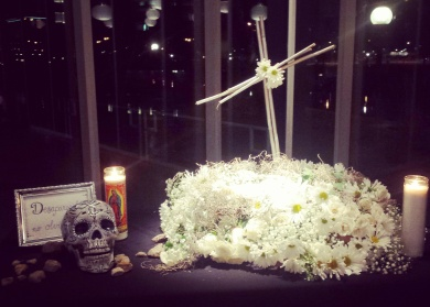Altar design by Karla Giguere. Photo courtesy of Susannah Magers.