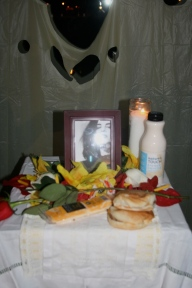 Altar dedicated to Maggie Estep.