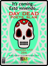 Day of the Dead Poets Slam is Coming!
